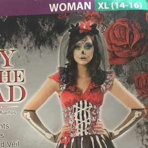 Women's Day of the Dead Costume